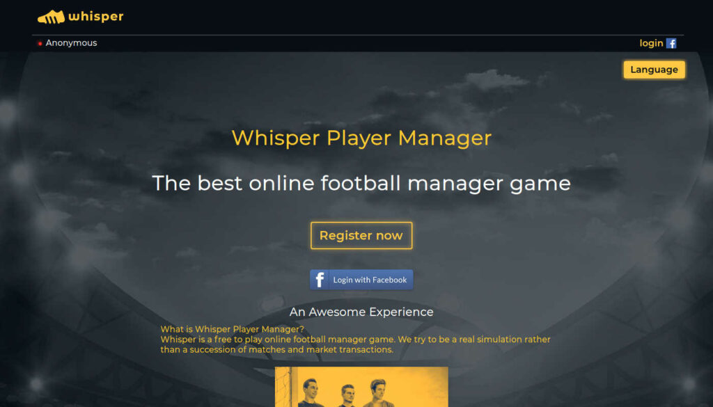 whisper player manager